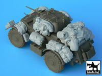 Staghound accessories set for Bronco kit, 19 resin parts - Image 1