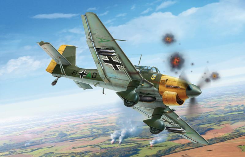 Junkers JU-87 B2 STUKA Italeri 2690