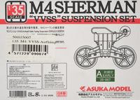 M4 Sherman VVSS Suspension set
