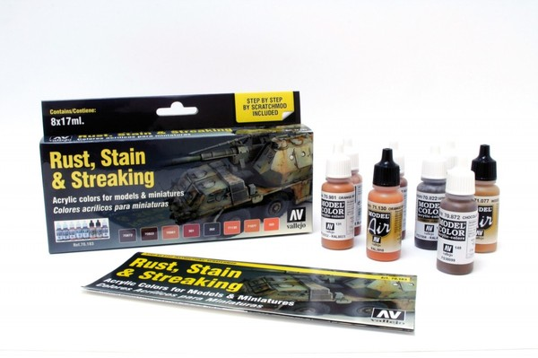 70183 Rust, Stain & Streaking Set - Image 1
