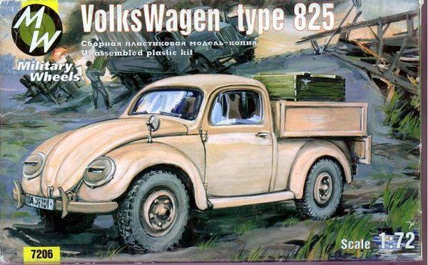 Volkswagen Type 825 Military Wheels 7206