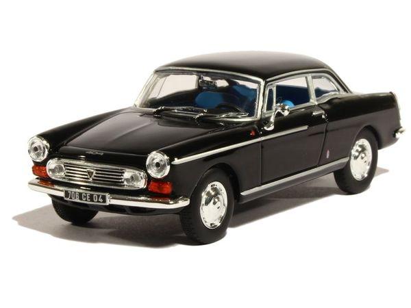 Black 1:43 NOREV 474431 Peugeot 404 Coupé 1967