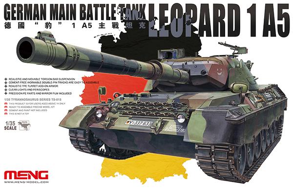 Legend 1//35 Leopard 1A5DK Tank UN Version Conversion LF1283 for Meng TS-007