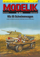 SCHWIMMWAGEN GERMAN PASSENGER TERRAIN AMPHIBIAN FROM W.W. 2ND