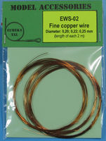 Fine copper wire Diameter: 0.20, 0.22, 0.25