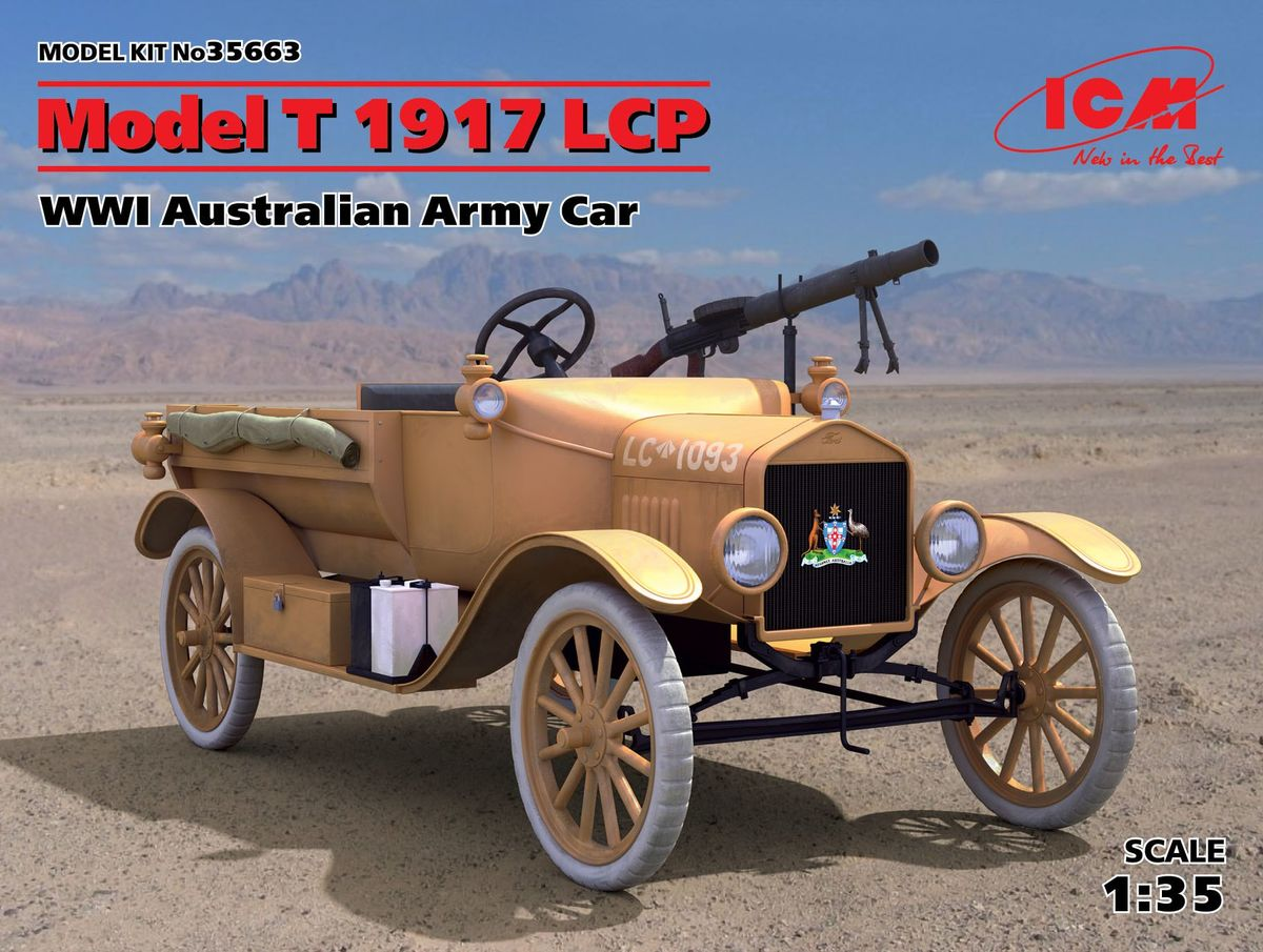 Model t 1917 lcp australian army image 1