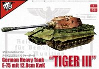 "Fist of War German Heavy Tank ""Tiger III"" E-75 mit 12.8cm KwK - Image 1"