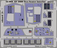 EF 2000 Two-seater interior S.A.  1/32 TRUMPETER - Image 1