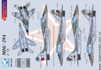 Decal for MiG-29A  in Russia Part II ( ForTrumpeter )