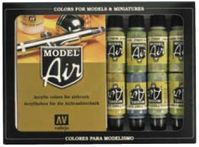 71180 Model Air - WWII Allied Forces Set
