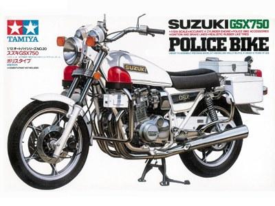 Suzuki Gsx750 Police Bike 1980 Tamiya 14020