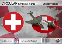 Circular Display Base Swiss Air Force 200mm