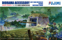 Diorama Accessory Anti-Tank obstacles tochka wathing tower