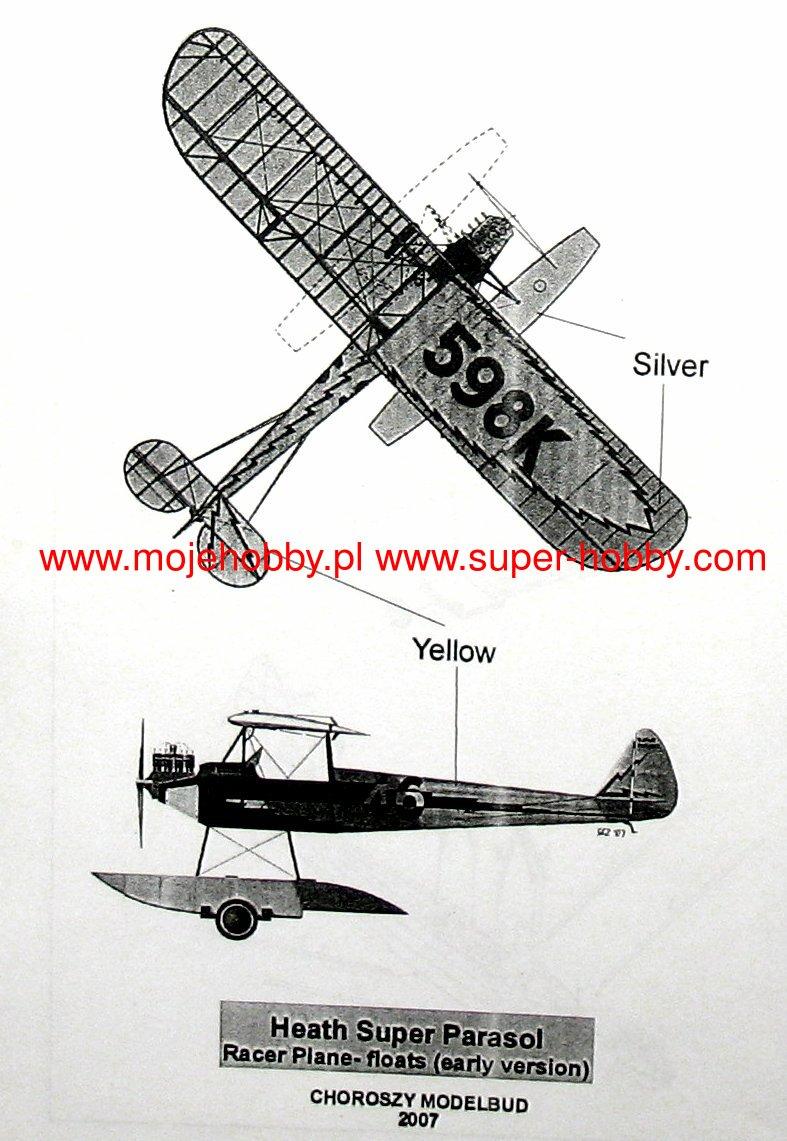 Heath Super Parasol Racer (floats)