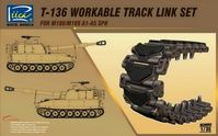 T-136 Workable Track link Set for M108/M109 A1-A5 SPH