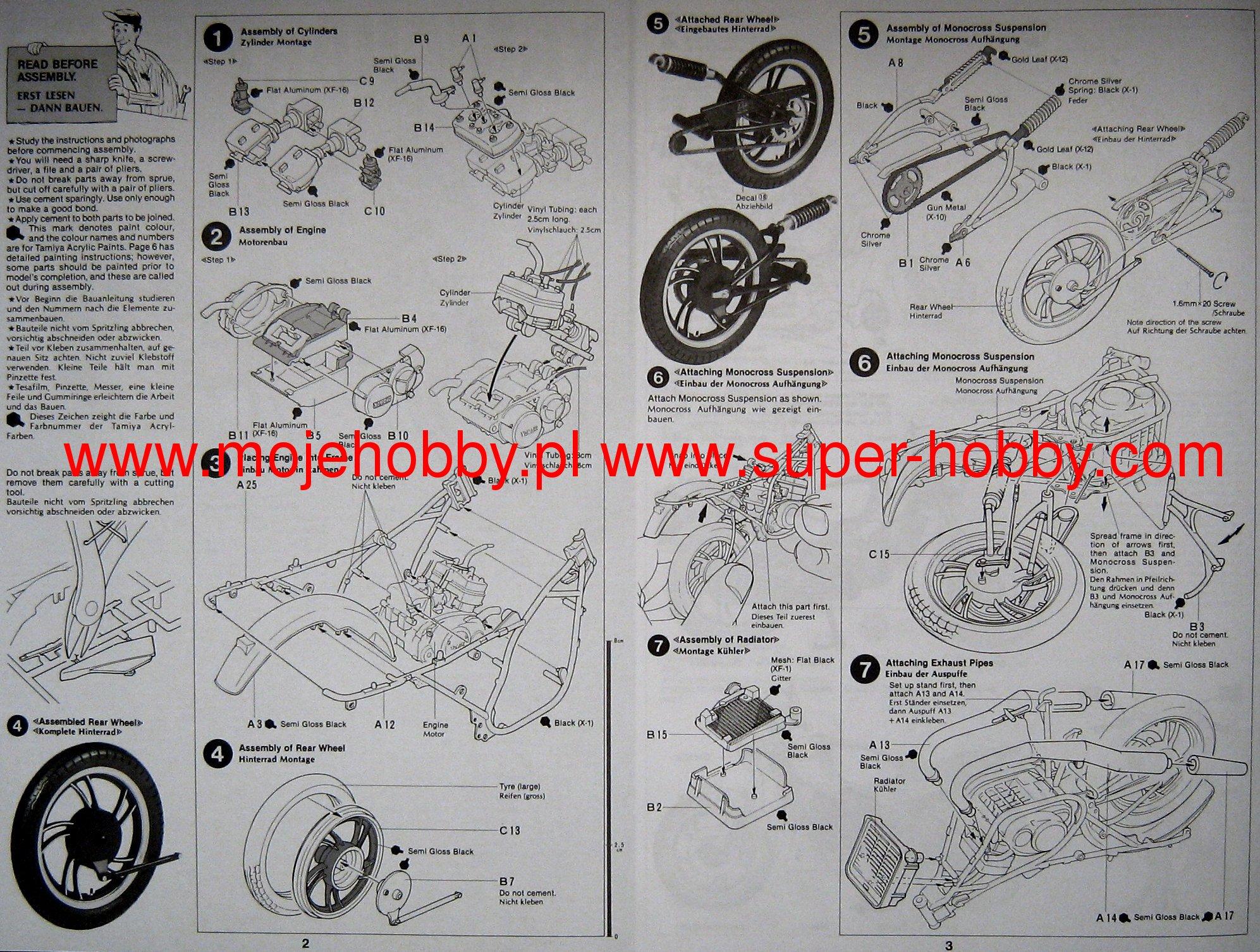 Yamaha Rz350 Wiring Diagram Intertherm Diagram Electric Wiring ...
