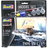 German Submarine Type VII C/4 Model Set