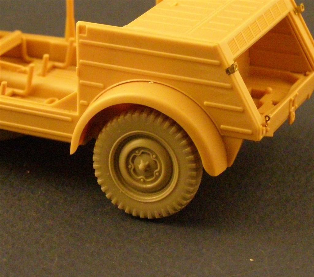 "PANZER ART RE35-030 1//35 Road Wheels for VW ""Kubelwagen"""