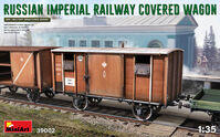 Russian Imperial Railway Cover Wagon