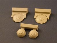 Drive Wheels with transmission for Pz II Tank