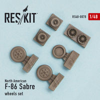 North American F-86 Sabre wheels set - Image 1