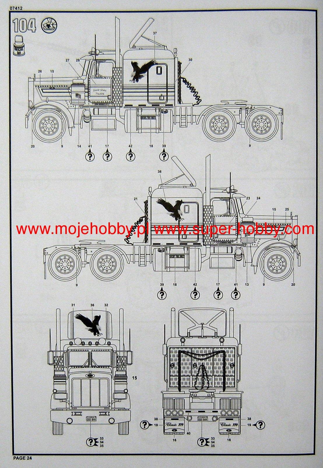 1982 Peterbilt 359 Wiring Diagram Trusted 1981 Kenworth Pin On Pinterest W900 Brake