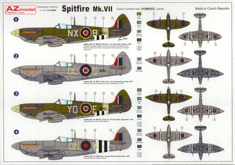 Image result for spitfire vii
