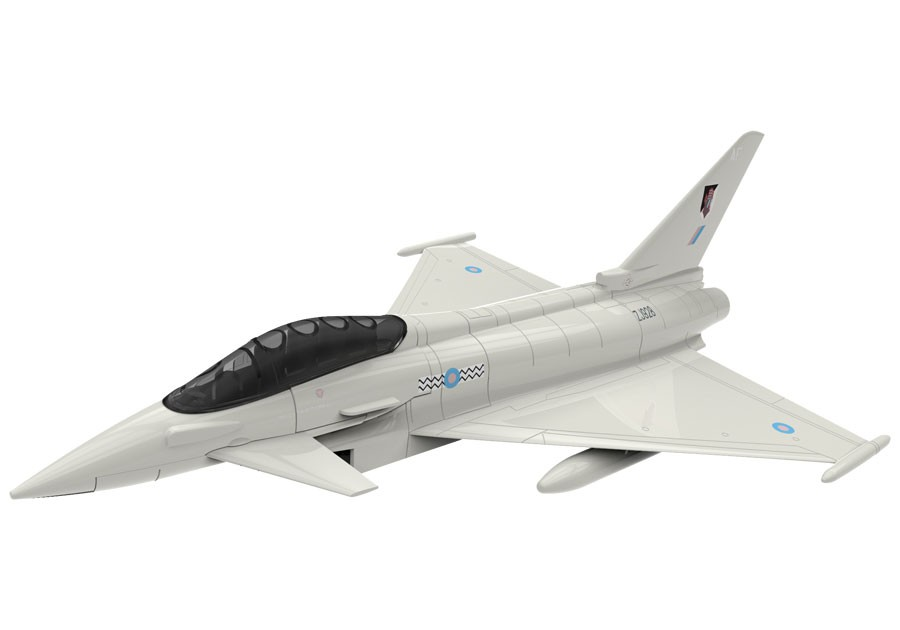 Airfix Eurofighter Typhoon Quick Build Model Kit J6002