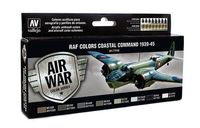 71148 Air War Color Series - RAF Colors Coastal Command 1939-45 Set