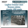 Legion Condor cars license plates
