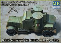 British Armoured Car, Austin, MK IV, WW I Era