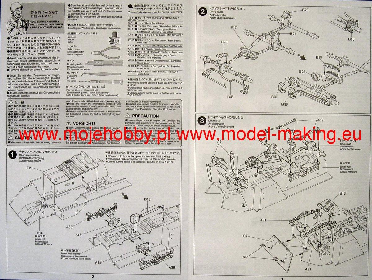 U. S. M20 Armored Utility Car Tamiya 35234