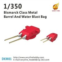 Bismarck Class Metal Barrel and Water Blast Bag
