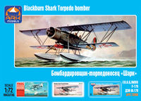 "Blackburn ""Shark"" British torpedo bomber"
