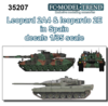 Spanish Leopard 2A4 and Leopardo 2E