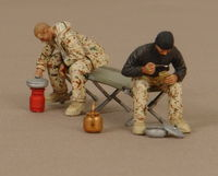 Soldiers of the Bundeswehr in camp  (part1) 2 figures