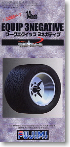 14-inch Work Equip 3Negative Wheels and Tires Set - Image 1