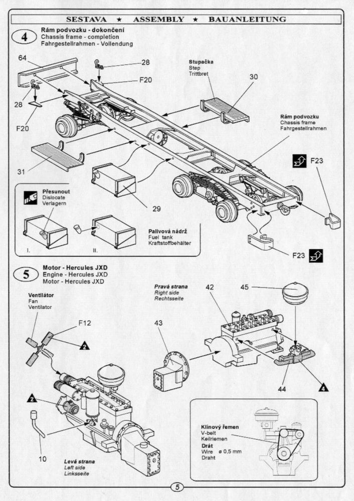 Studebaker Us 6 U5 Gasoline Tank Cmk Ra014
