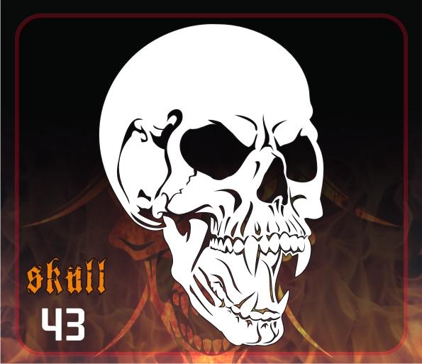 Skull 43 Delta Arts