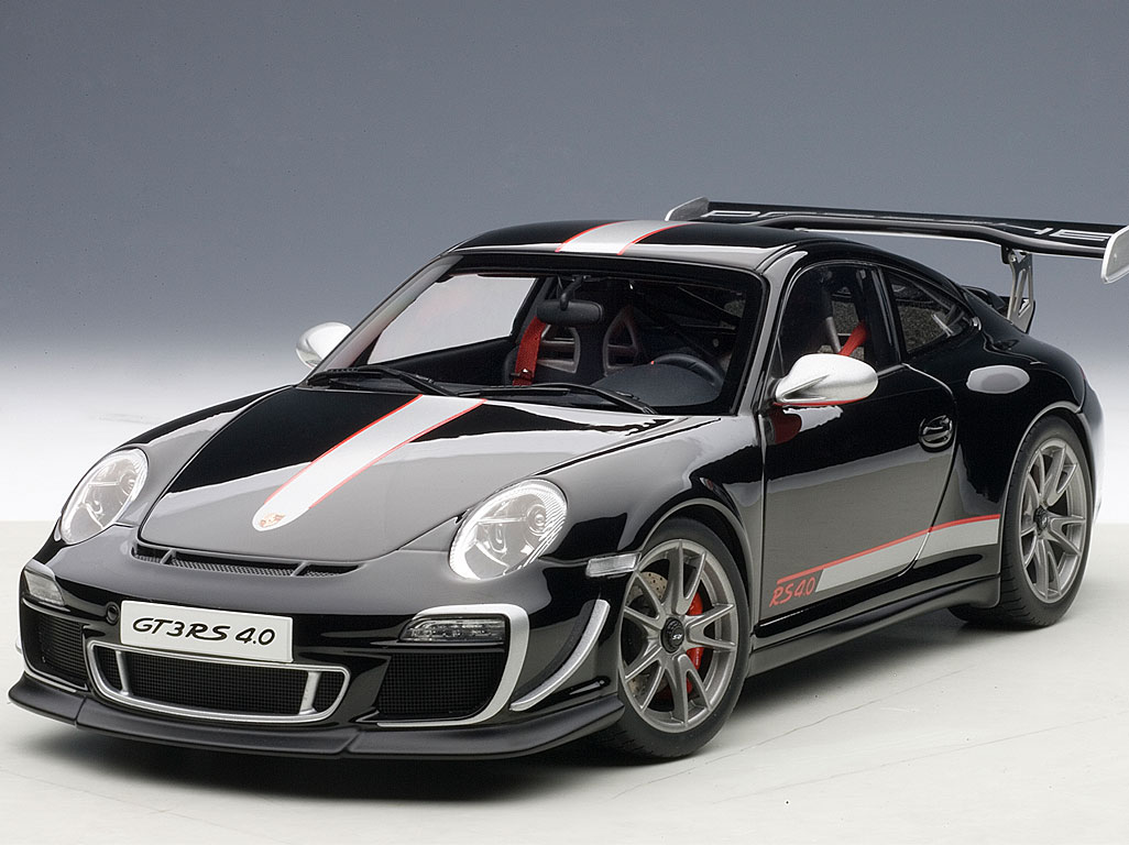 porsche 911 997 gt3 rs 4 0 die cast model autoart 78146. Black Bedroom Furniture Sets. Home Design Ideas