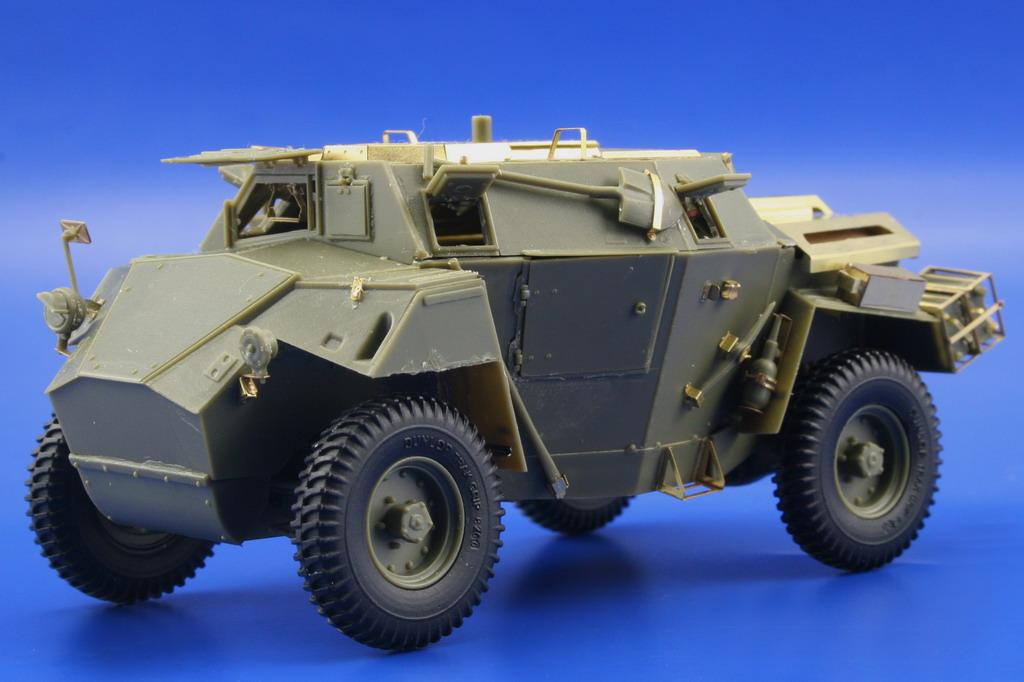 Humber Scout Car Mk I Exterior Bronco Eduard 36012