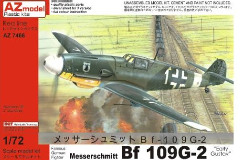 BF-109G-2 Early Gustav - Image 1