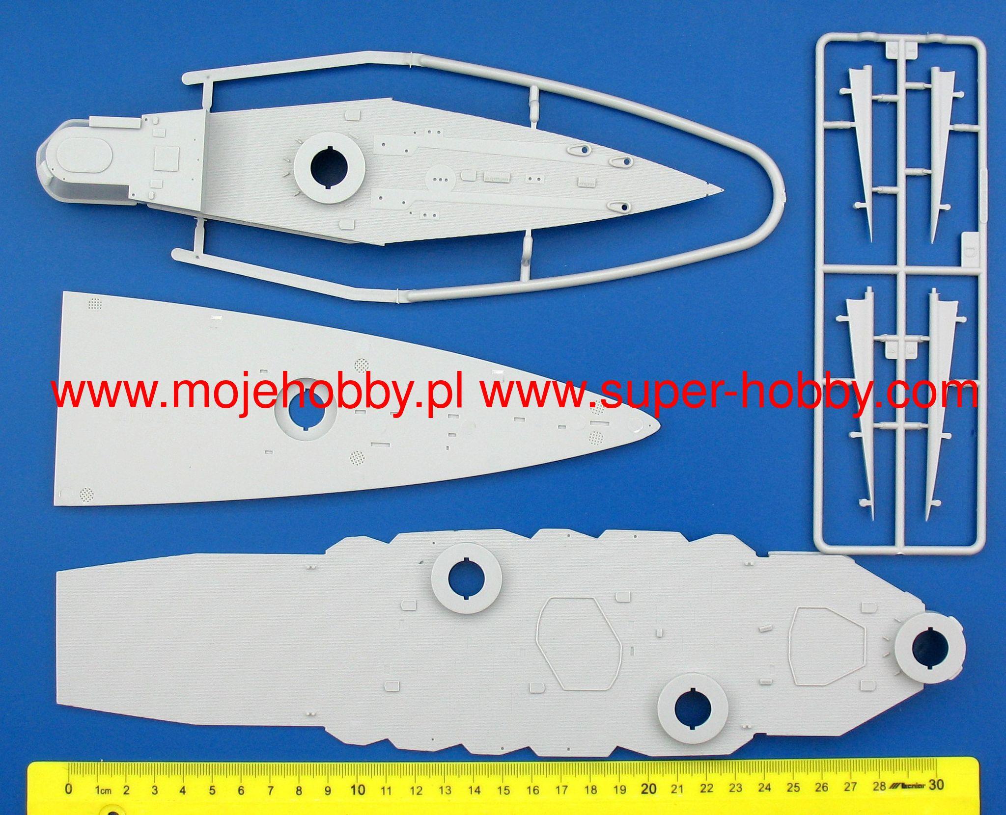 Hobby Boss 86510 SMS Seydlitz in 1:350