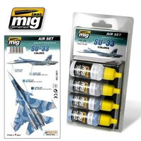 A.MIG 7208 Air Set - Su-33 Colors - Acrylic color for brush and airbrush