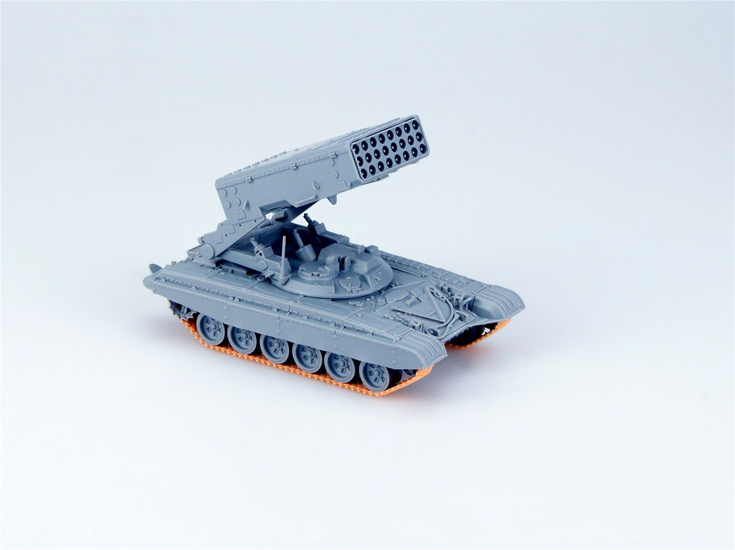 TOS-1A Heavy Flame Thrower System W/T-72 Chassis Model ...