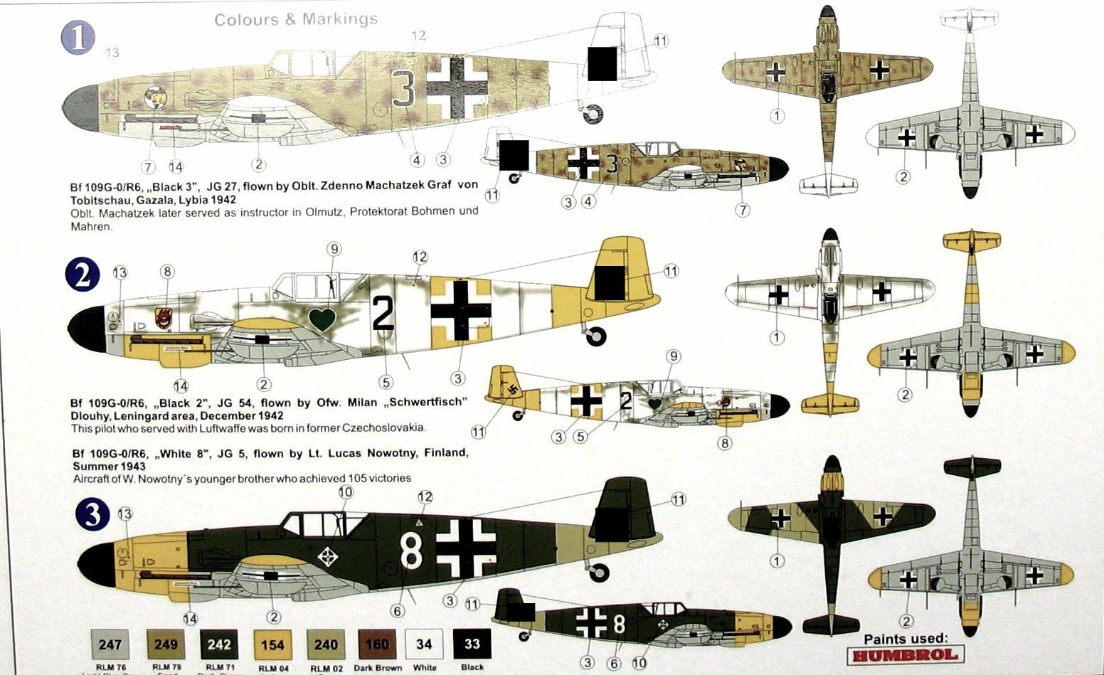 Messerschmitt Bf 109G-0/R-6 AZ-Model 7546