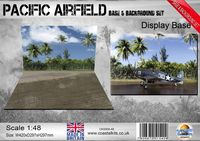 Pacific Airfield Base & Background 420 x 297mm - Image 1