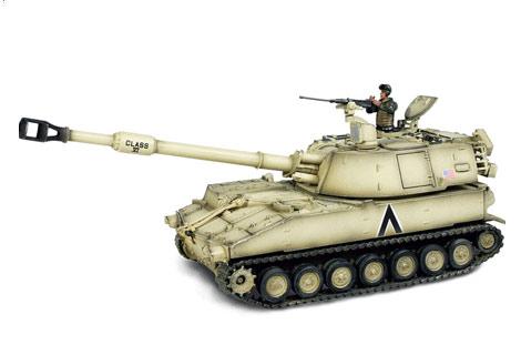 Self Propelled Cart >> U.S. M109 Self Propelled Howitzer - Die-cast model ...