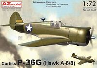 Curtiss P-36G (Hawk A-6/8)