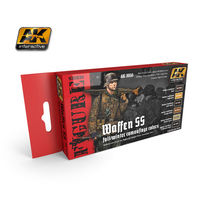 AK 3050 WAFFEN SS FALL/WINTER CAMOUFLAGE  SET